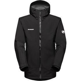 Mammut Convey Tour HS giacca con cappuccio Uomo, nero/bianco
